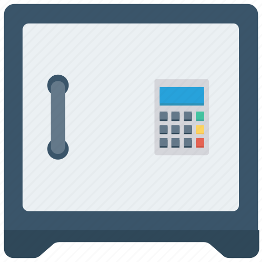 bank, business, money, safe icon icon
