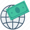 currency, finance, global money exchange, money, money exchange, payment, world icon icon