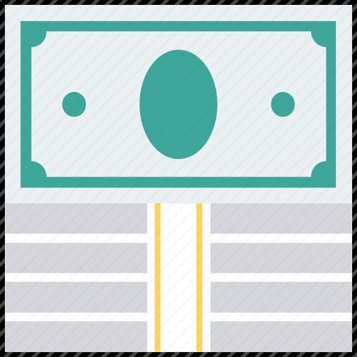 banknote, bills, cash, cash flow, dollars, money icon