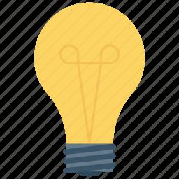bulb, idea, light, lightbulb icon icon