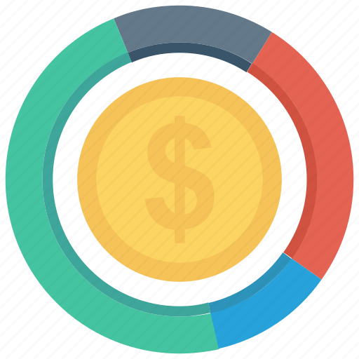 coins, currency, finance, graph, money icon, • chart icon