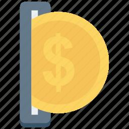 atm, cash, coin, mashine, vending icon icon