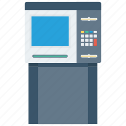 atm, bank, money, paper money icon icon