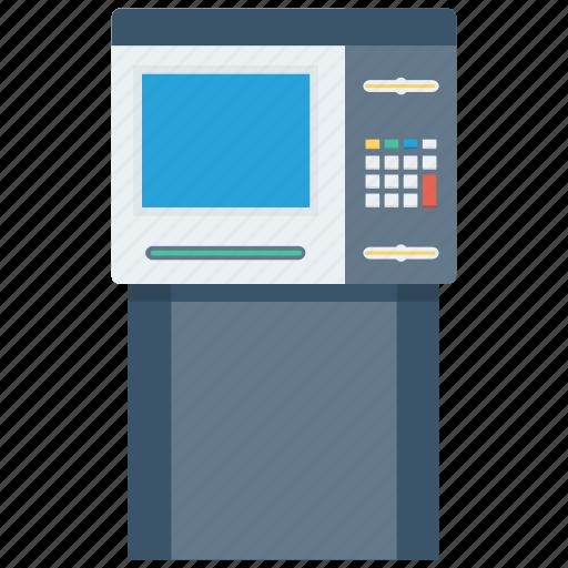 atm, bank, money, paper money icon icon