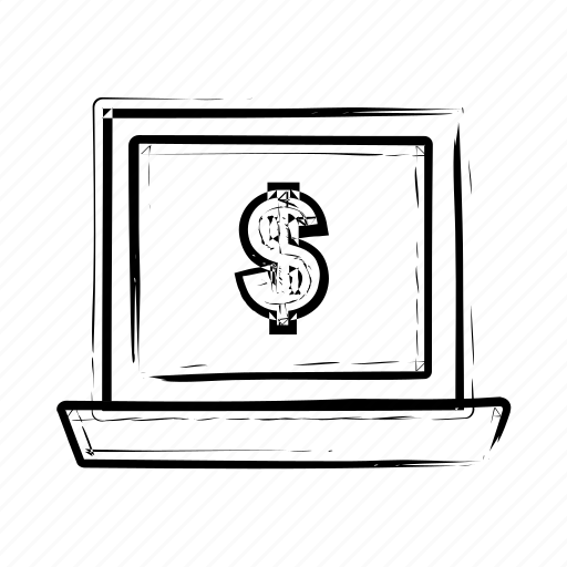 computer, device, laptop, macbook, monitor, notebook, technology icon icon