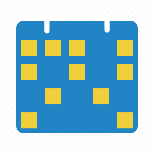 calendar, finance, money icon