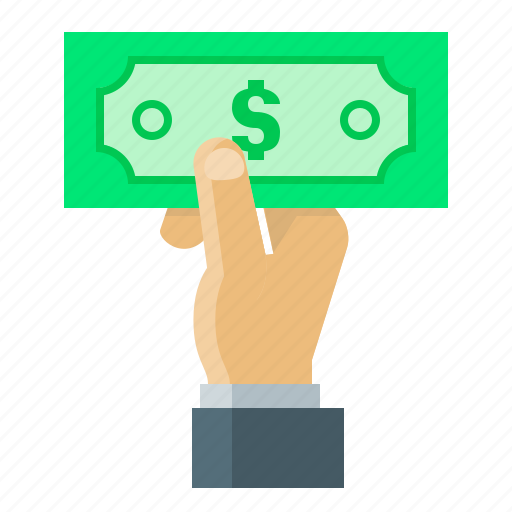 cash, cash payment, currency, dollar, payment icon