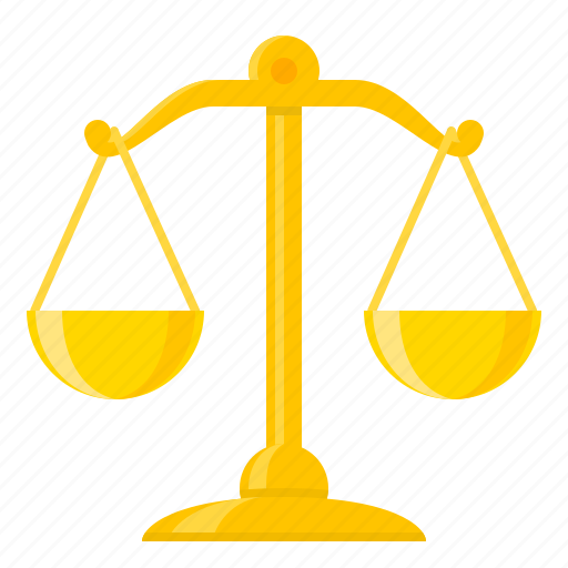 balance, justice, law, law scales, libra, scales, weight icon