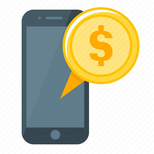coin, m-banking, mbanking, mobile, mobile banking icon