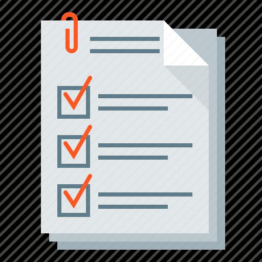 bid, checklist, document, form, questionnaire icon