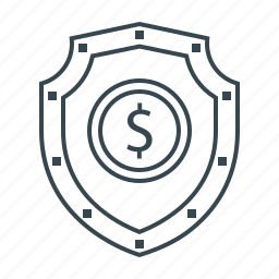banking, protection, secure, security, shield icon