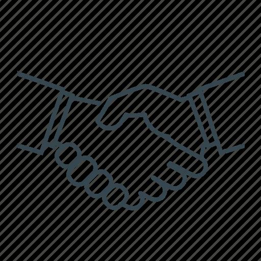 agreement, contract, handshake, partnership, team, teamwork icon