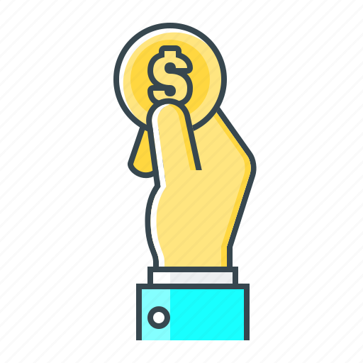 hand, money, pay, payment icon