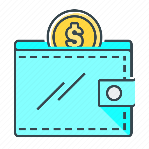money, personal, personal wallet, purse, wallet icon
