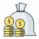 banking, currency, money, saving icon