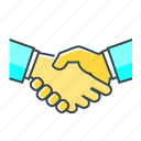 agreement, handshake, partnership, team, teamwork icon