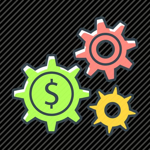finance, making, making money, money, service icon