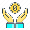 finance, fund, money, money saving, profit, saving icon