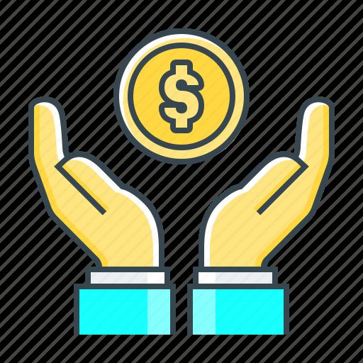 finance, fund, money, money saving, profit, saving icon