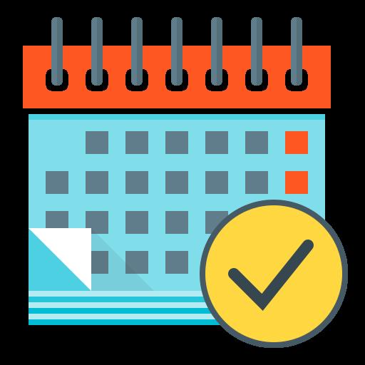 calendar, event, financial, financial planning, plan, planning icon