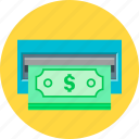 cash, cash out, currency, dollar, money icon