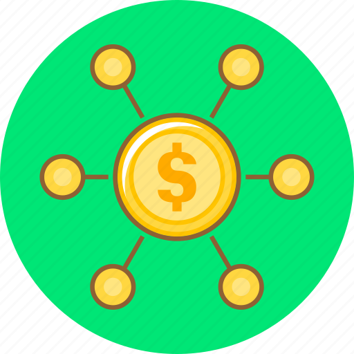 affiliate marketing, crowdfunding, finance, financial, marketing icon