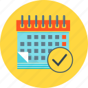 calendar, event, financial, financial planning, plan, planning icon