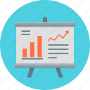 analytics, chart, finance, financial, financial report, graph, report icon