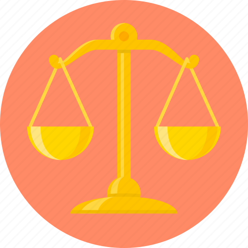 balance, justice, law, libra, making money, scales icon