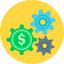finance, making, making money, money, service icon