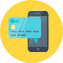 banking, card, m-banking, mobile, mobile banking, smartphone icon