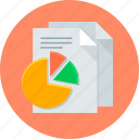 finance, statistics, analysis, analytics, diagram, report icon