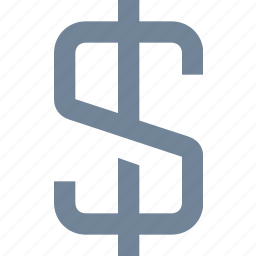 banking, currency, dollar, exchange, fiance, financial, sign icon