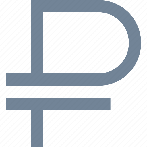 currency, finance, financial, money, rouble, russian, sign icon