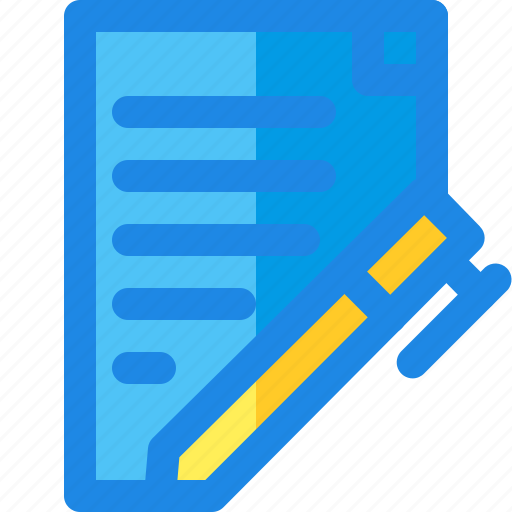 and, business, filled, finance, line, paper, recipe icon