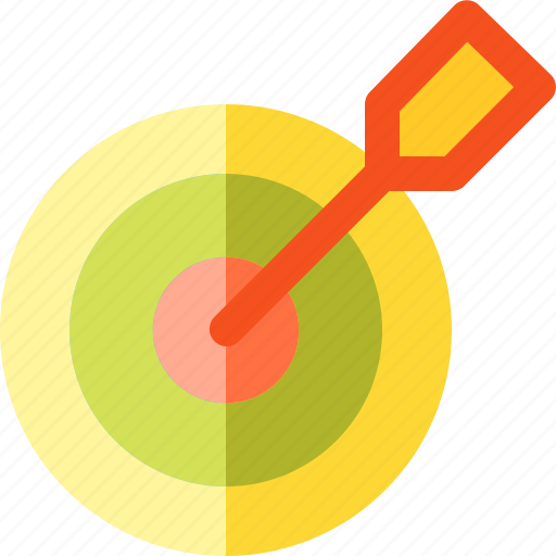 and, arch, business, finance, marketing, target icon