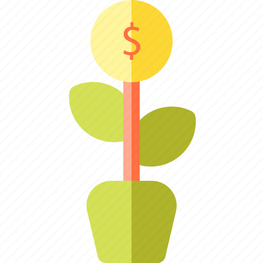 and, business, finance, grow, money icon