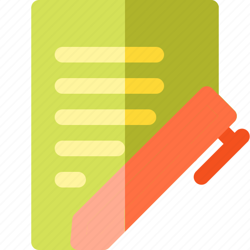 and, business, finance, paper, pen, recipe icon