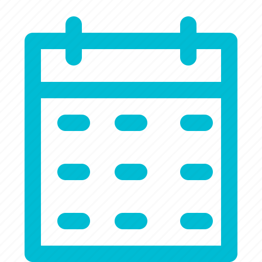 and, business, calendar, finance, outline icon