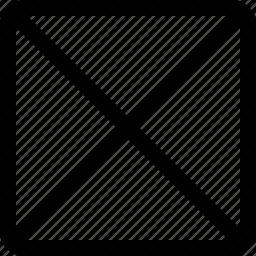 cross, square icon