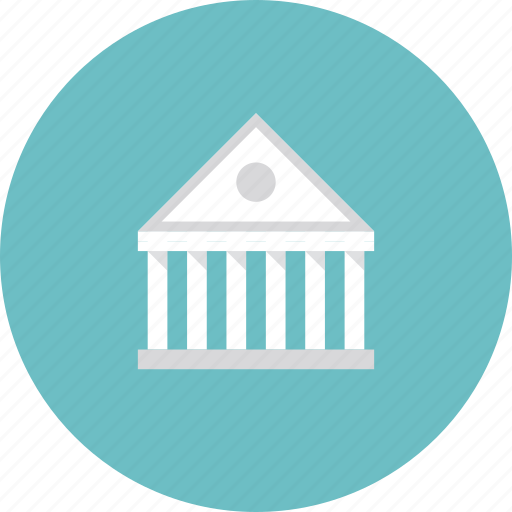 account, architecture, asset, bank, banking, building, business, classic, corporate, federal, finance, financial, government, greek, market, structure icon