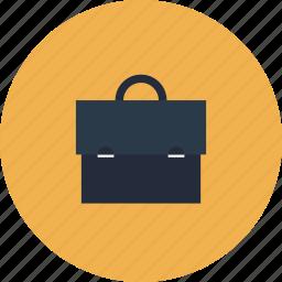 bag, briefcase, business, case, documents, handbag, item, leather, portfolio icon