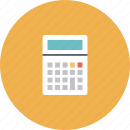 account, budget, business, calc, calculation, calculator, equipment, math, maths, number, supply, tool icon