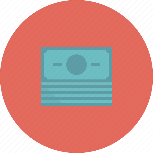 asset, banknote, bills, cash, currency, dollar, dollars, economics, finance, financial, investment, money, pile, stack icon