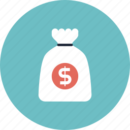 bag, cash, commerce, deposit, dollar, earnings, finance, financial, guardar, investment, money, payment, save, savings, treasure, wealth icon
