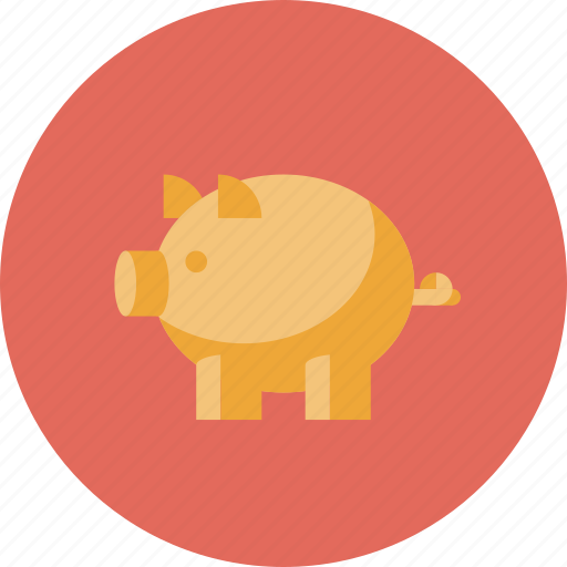 account, bank, banking, budget, business, deposit, economy, guardar, money, pig, piggy, save, savings icon