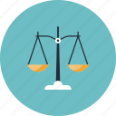 decision, item, judge, judgment, justice, law, lawyer, legal, measure, measurement, scale, stand, weight icon