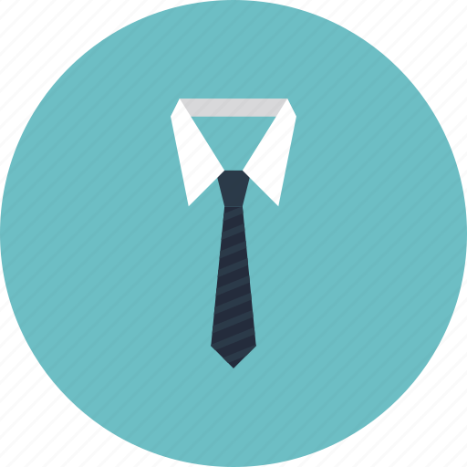business, clothes, clothing, dress, formal, male, neck, necktie, office, professional, shirt, suit, tie, white collar icon