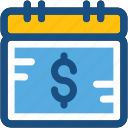 business, business reminder, finance, finance calendar, timeframe icon