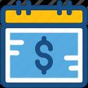 business, business reminder, finance, finance calendar, timeframe icon